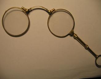 Лорнет, золото 585 пр., інв.№3596