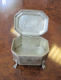 Шкатулка, срібло, інв.№56271