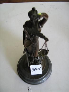 "Статуетка ""Феміда"", бронза, інв.№3607"